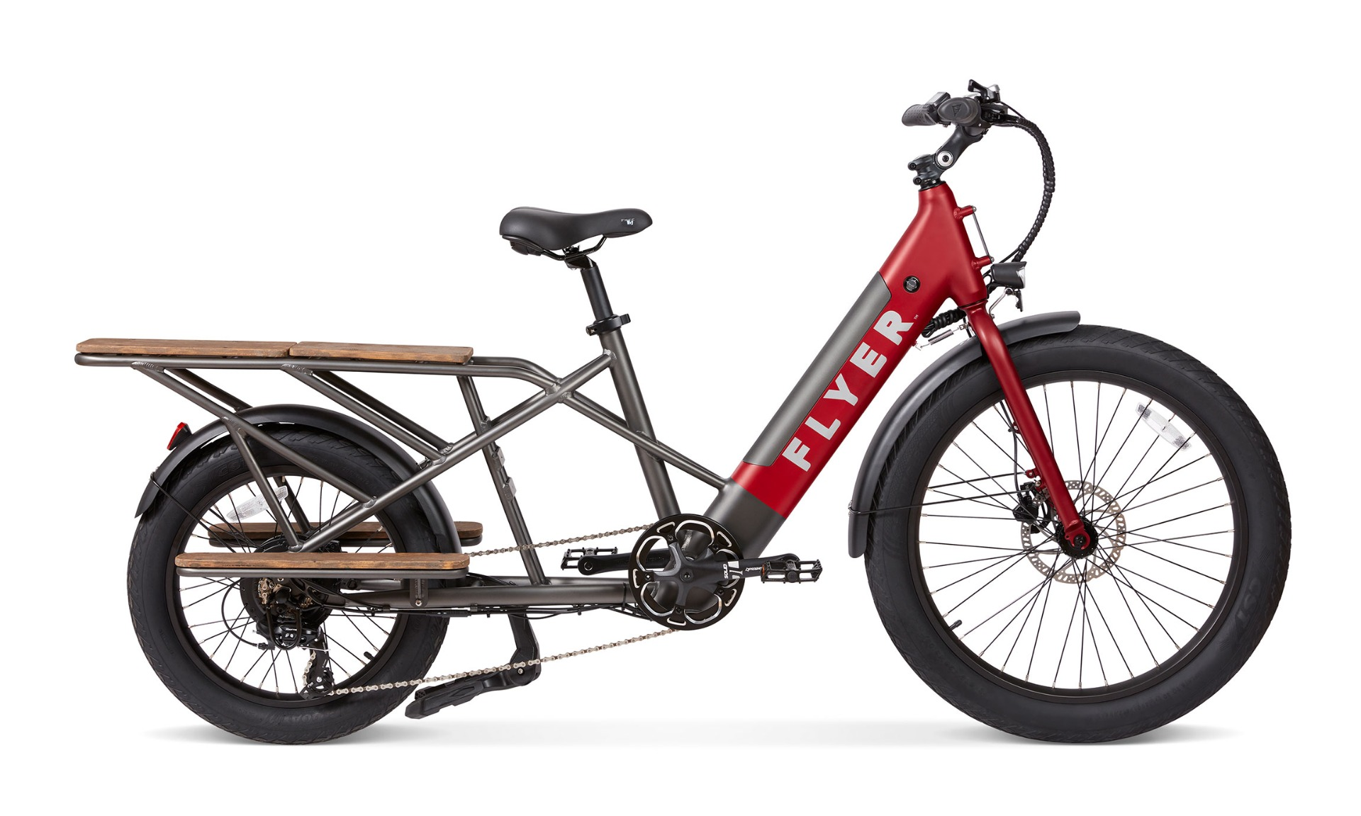 Flyer L885 red electric cargo bike